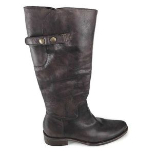 Matisse Boots Tall Leather Brown 8.5 M